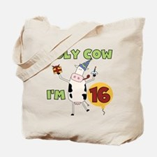 Cow 16th Birthday Tote Bag