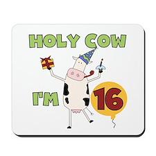 Cow 16th Birthday Mousepad