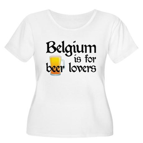 Belgium is for Beer Lovers Women's Plus Size Scoop