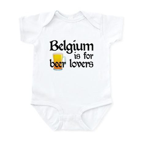 Belgium is for Beer Lovers Infant Bodysuit