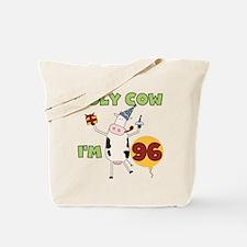 Cow 96th Birthday Tote Bag