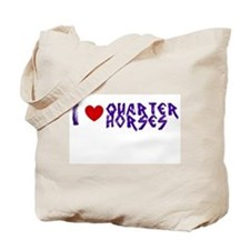 Cute Quarter horse Tote Bag