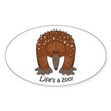 Echidna Oval Decal