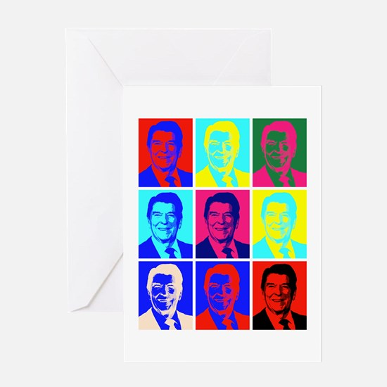 Reagan Portraits Greeting Card