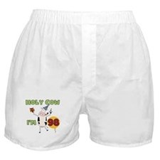 Cow 98th Birthday Boxer Shorts