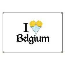 I Love Belgium (Fries) Banner