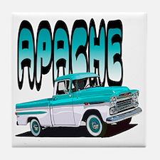 Unique Chevy truck Tile Coaster