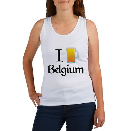 I Love Belgium (beer) Women's Tank Top