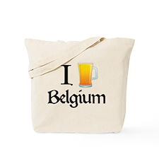 I Love Belgium (beer) Tote Bag