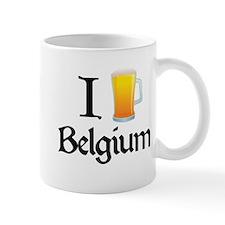 I Love Belgium (beer) Mug