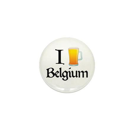 I Love Belgium (beer) Mini Button (100 pack)