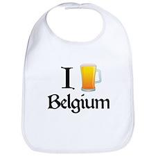 I Love Belgium (beer) Bib