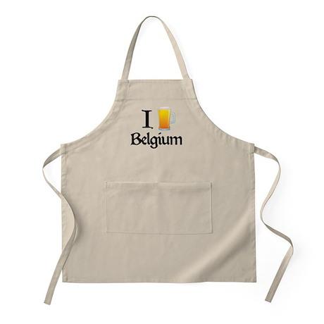 I Love Belgium (beer) BBQ Apron