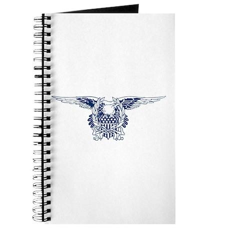 Blue American Eagle Journal