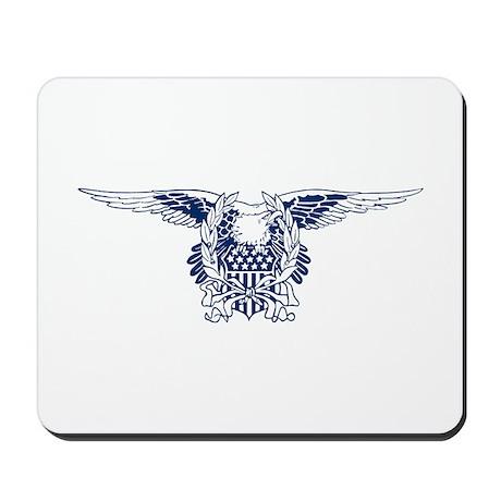 Blue American Eagle Mousepad