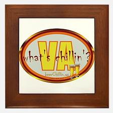Funny Adam bjork Framed Tile