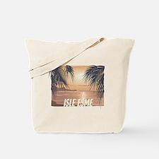 Isle Esme Palm Trees Tote Bag