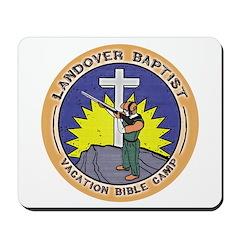 Bible Gun Camp Mousepad