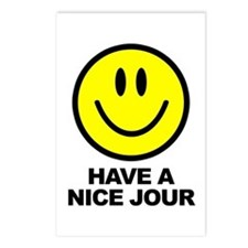 Have a Nice Jour Postcards (Package of 8)