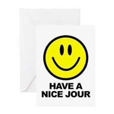 Have a Nice Jour Greeting Card