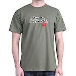 Kiss Me, I'm Swedish Dark T-Shirt
