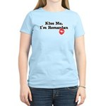 Kiss Me, I'm Romanian Women's Light T-Shirt