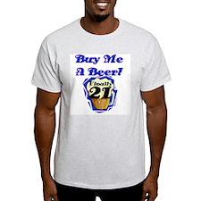 Beer 21st Birthday T-Shirt
