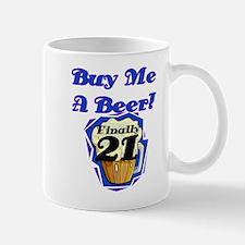 Beer 21st Birthday Mug