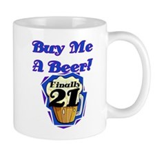 Beer 21st Birthday Mug