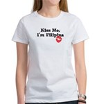 Kiss Me, I'm Filipina Women's T-Shirt