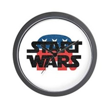 Start Wars Wall Clock