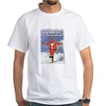 Santa Cross White T-Shirt