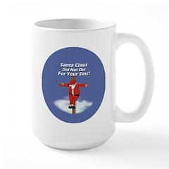Santa Cross Large Mug