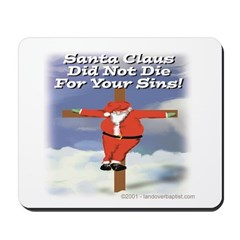 Santa Cross Mousepad