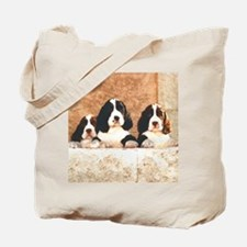 English Springer Pups 2 Tote Bag