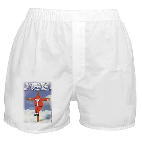 Santa Cross Boxer Shorts