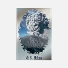 Mt. St. Helens Rectangle Magnet