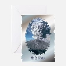 Mt. St. Helens Greeting Card