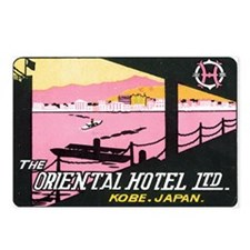 Vintage Orient Hotel Postcards (Package of 8)