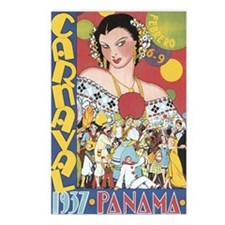 Carnaval Panama 1937 Postcards (Package of 8)