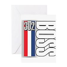 302 boss RWB Greeting Card