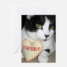 Loving Kitty Greeting Card