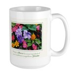 Colorful Flower Pot Large Mug