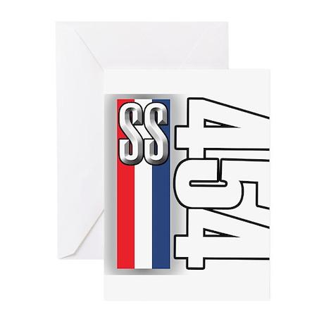 454 SS RWB Greeting Cards (Pk of 10)