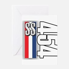 454 SS RWB Greeting Card