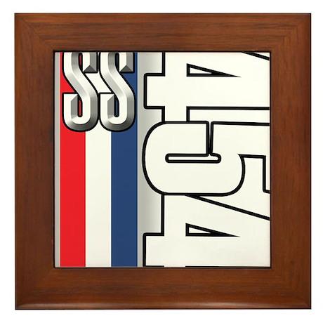 454 SS RWB Framed Tile