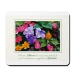 Colorful Flower Pot Mousepad