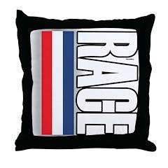 Race RWB Throw Pillow