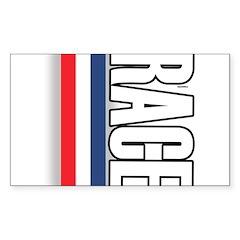 Race RWB Rectangle Decal