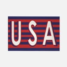 U.S.A. Rectangle Magnet